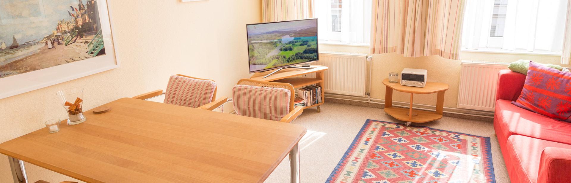 Whg 2 2 5 zimmer ferienwohnung a obergeschoss 1 etage for 3 zimmer wohnungen lubeck